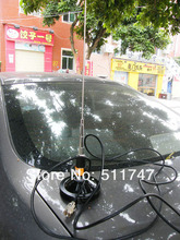 Dual Band Antenna 136-174MHZ+400-470MHZ For Car Roof Mobile Radio + magnetic base with 5 m Coaxial Cable+ PL-259 Cable Connector