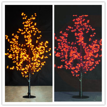 2014 colorful led cherry blossom tree light, led cherry light height 1.5m