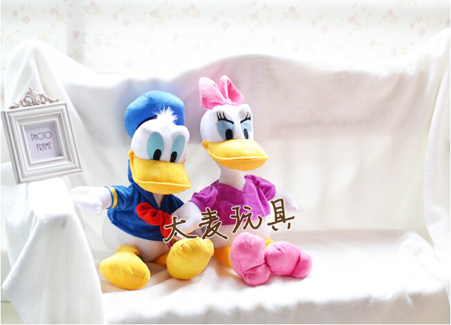 55cm 1pcs Genuine Donald or Duck Daisy Duck doll plush toy childrens Day gifts , christmas gift free shipping<br><br>Aliexpress