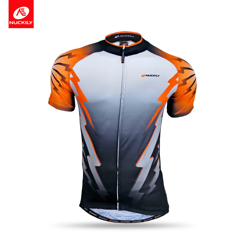 Nuckily summer short sleeve cycling jersey with high quality polyester fabric for men NJ500<br><br>Aliexpress