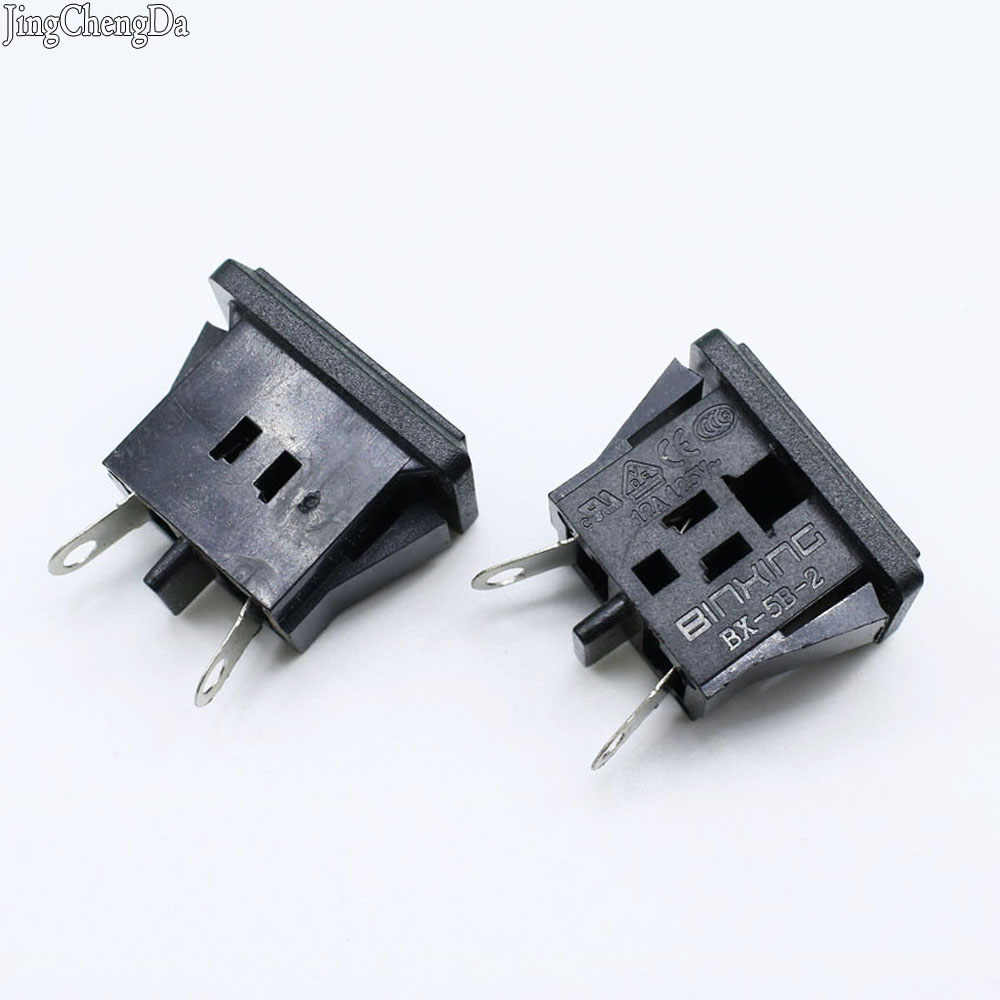 Jcd 1pcs Good Quality Ce Rohs Black Ac Power Socket Terminal Wire Foot With Ear Screw Hole Fixed Plum Outlet Computer & Office