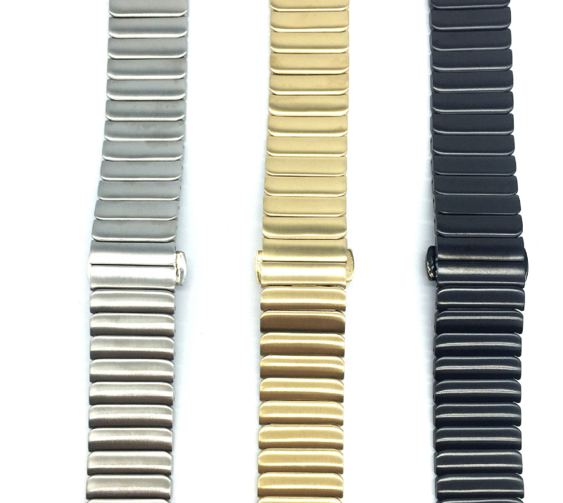 ot01 42mm 46mm Stainless Steel Watch Band Metal Watchband Wristband Strap for Moto 360 2 2nd Gen Man/LG Urbane/ Pebble Time Ste<br>