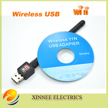 5pcs/lpt Top quality Mini Ralink RT7601 150M USB 2.0 WiFi Wireless Network Networking Card 802.11b/g/n LAN Adapter with Antenna