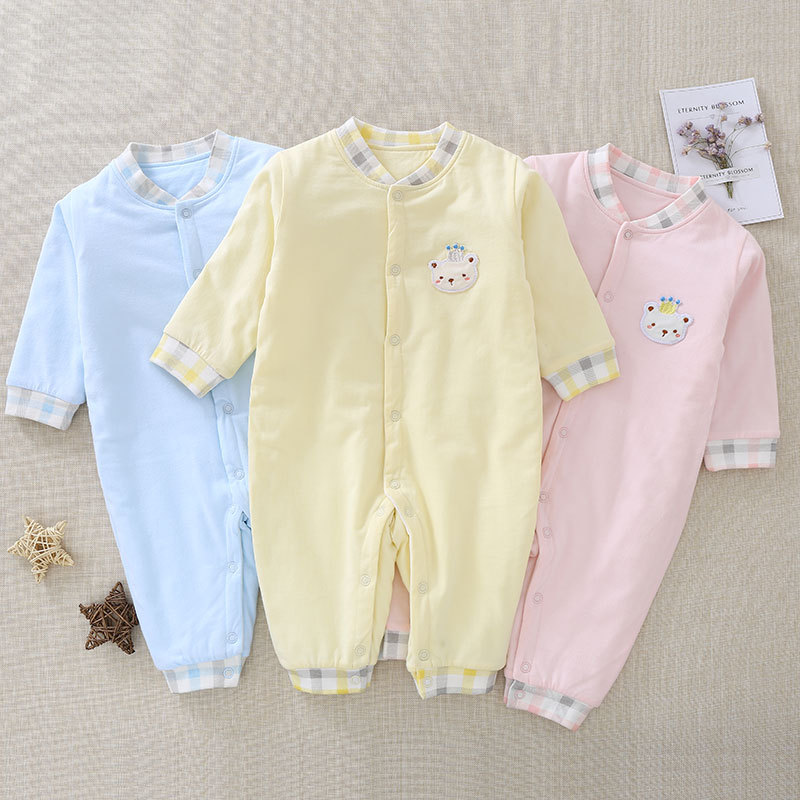 2017 warm cotton Babys Sets Cartoon Boys and Girls Clothes AD0459-AD0465<br>