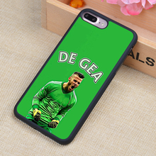 Popular David De Gea No 1 Pattern Soft Rubber Mobile Phone Cases OEM For iPhone 6 6S Plus 7 7 Plus 5 5S 5C SE 4 4S Cover Shell