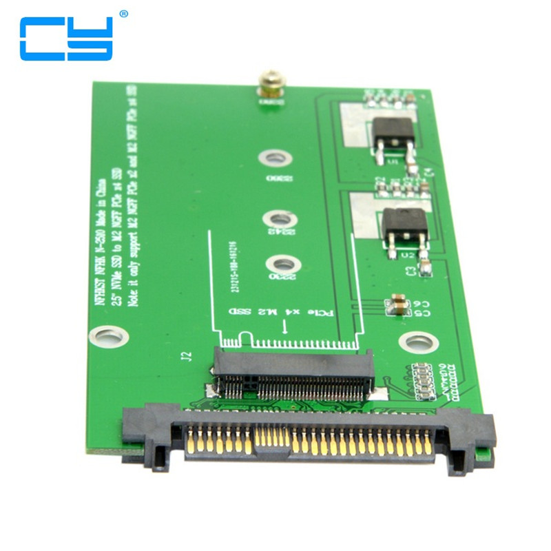SFF-8639 NVME U.2 para Adaptador PCIe SSD NGFF M.2 M-chave para Substituir Mainboard Intel SSD 750 p3600 p3700<br>