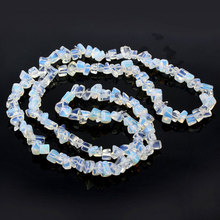 1 String Synthetic Opal Beads Crystal Stone Cabochon Bead Mix Size Shape Cuentas Y Abalorios Perlas Para Bisuteria ABS2(China)
