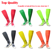 Cycling Soccer Socks Unisex Leg Support Stretch Magic Compression Fitness Football Basketball Socks Anti Slip Men Football Socks