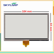 10pcs/lot New 4.3 inch Touch screen for TomTom XL IQ Live V2 XL 310 IQ Routes GPS digitizer panel replacement