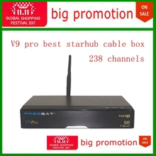 12.12 on sale most stable starhub cable box 238 starhub channels free watch football game freesat V9 pro Singapore starhub(China)