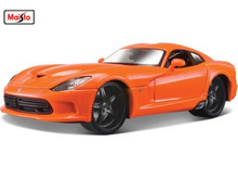 Maisto 1:24 Dodge 2013 SRT Viper GTS Diecast Model Car Toy New In Box Free Shipping