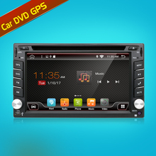 Car Electronic autoradio 2din android 6.0 car dvd player stereo GPS Navigation WIFI+Bluetooth+Radio+1.2G CPU+3G+TV (Option)(China)