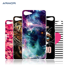 For Lenovo ZUK Z2 Case Hard Plastic Mobile Phone Cover DIY Color Paint Painting Cellphone Bag Shell cases
