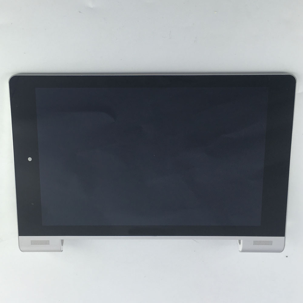 used LCD Display Panel Screen Monitor Touch Screen Digitizer Glass Assembly parts with frame  8 For Lenovo IdeaTab Yoga 8 B6000<br>