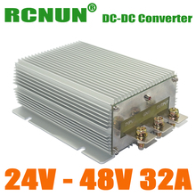 1500W DC DC Converters 24V to 48V 32A Boost Voltage Regulator