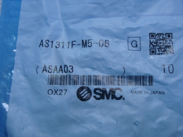 BRAND NEW JAPAN SMC GENUINE SPEED CONTROLLER AS1311F-M5-06<br>