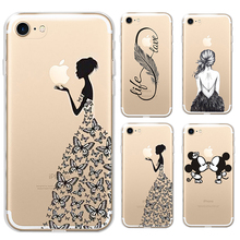 Fashion Cartoon Case For iphone 5c Case Cover Silicone Ultra Thin Shockproof Soft Transparent TPU For iphone 5c Case
