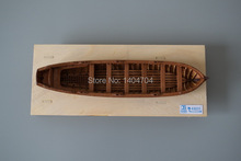 NIDALE model Free shipping Scale 1:48 Laser-cut wooden Lifeboat model kit 148mm J4805 plnance boat model(China)