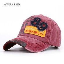 2018 nueva moda bordado gorra de béisbol hombre mujer vintage Cap algodón  lavado de alta calidad 36841d678fe