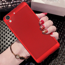 Luxury PC Cellular Back Cover Cases For Huawei Y6 II 2 For Huawei Y6II Honor 5A(5.5inch)Mesh Heat Dissipation Design Phone Case
