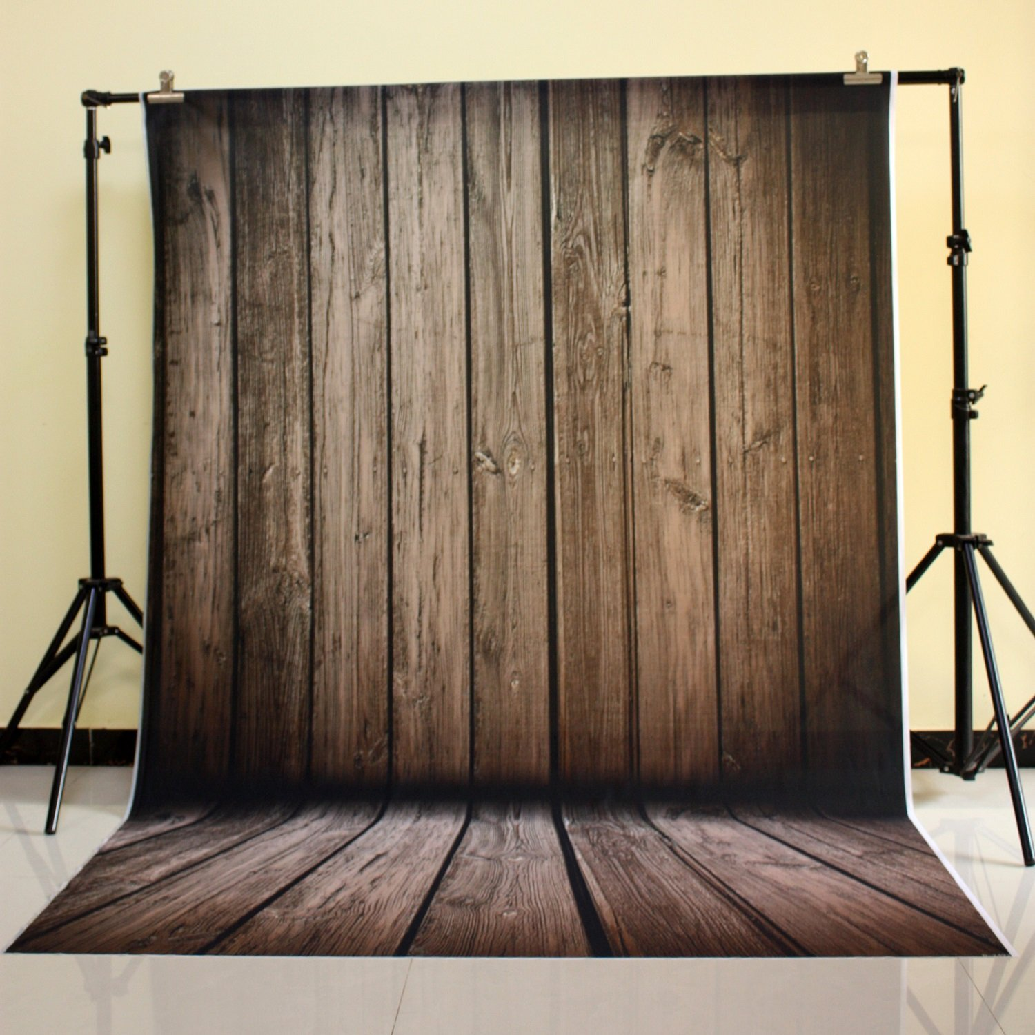 150x220cm Cotton Polyester Dark Deep Color Background Christmas Party Backdrop Children Photo Backdrop Pine board wall D-2492<br>