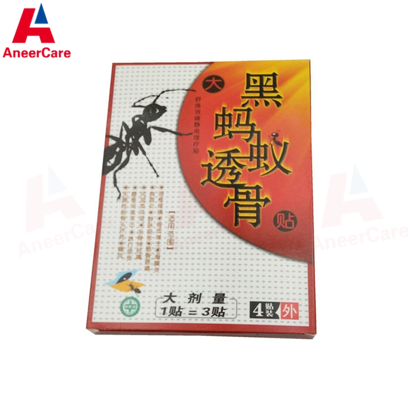 8 Patches Black Ant Pain Patch Magnet Chinese Traditional Pain Relief Knee Joint Pain Relief Medical Plaster Back Pain Patch<br><br>Aliexpress