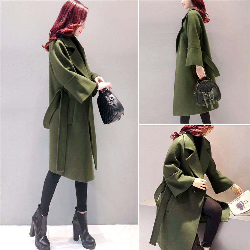 Army-Green-Woolen-Coat-Women-2018-Long-Parkas-Manteau-Femme-Elegant-Winter-Coat-Women-Flare-Sleeve (3)_