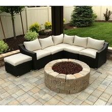 Sigma outdoor deep seating affordable wicker cebu used furniture(China)