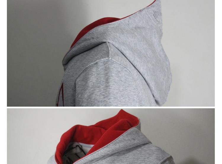 Fashion Men Assassins Creed Hooded Sweatshirt Hombre Autumn Winter Solid Hoodie Sweatshirts Men Cosplay Chadal Cool Clothing 3XL 8