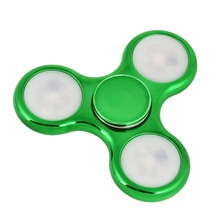 LED Light Finger Hand Spinner EDC Fidget Spinner For Autism and ADHD Relief Focus Anxiety Stress Gift Plastic Colorful Toys