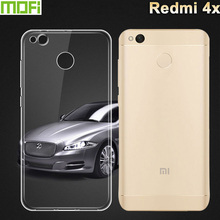 Case for Xiaomi Redmi 4x Cover MoFi Brand Soft Clear TPU Cover for Xiaomi 4x redmi case Silicone Xiaomi Redmi 4 x case Xiomi