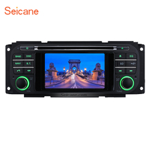 Seicane 2 Din Radio CD DVD Player GPS Navigation for 1999-2004 Jeep Grand Cherokee Support Bluetooth Music Backup Camera Aux(China)