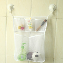 Waterproof Baby Shower Bath Toy Organizer Bag Baby Kids Bath Toy Storage Vacuum Bags Bathroom Wall Hanging  Storage Bag