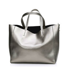 Bolsas Silver Luxury Famous Brand Women Messenger Bags Handbags Women Famous Brands Gold Women Leather Handbags Sac A Main Tote