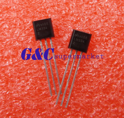 10PCS LM334 LM334Z TO-92 3-Terminal Adjuable Current Source IC(China (Mainland))