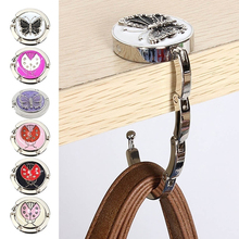 Fashion Butterfly Beetle Folding Hanger Holder Table Hook for Purse Handbag(China)