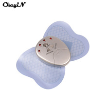 Free Shipping Mini Electronic Body Muscle Butterfly Massager Slimming Vibration Fitness Hot Professional Health Care Vibrator