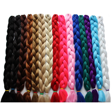 Rockstar Wigs 30colors 41inches Synthetic Ombre Jumbo Braids Hair 165g/Pack Kanekalon Blonde Crochet Braiding Hair Extensions