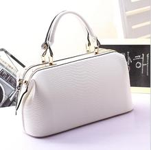 Multi Functional Classic fake Snake Pattern Ladies Fashion Women's solid clutch Crossbody Bag ladies summer white Handbags