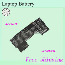 "High quality Original Laptop Battery For ACER S7  S7-191  Ultrabook 11"" AP12E3K"