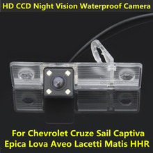 For Chevrolet Cruze Sail Captiva Epica Lova Aveo Matis HHR HD CCD Night Vision Car Rear View Reverse Backup Camera Waterproof