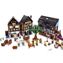 New Lepin 1601Pcs Castle Series The Medieval Manor Castle Set Educational Building Blocks Bricks Model Toys