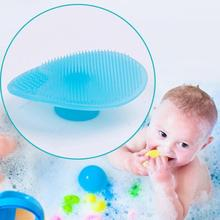 Buy Multipurpose Baby Hair Wash Brushes Soft silicone Infant newborn Shampoo hairbrush Comb Safety newborn Head Massager Gift D3 for $1.24 in AliExpress store