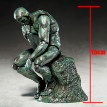 2017 Figma SP-056 The Thinker PVC Action Figure Collectible Model Toy 15cm The Table Museum The Thinker Action Figure 0031