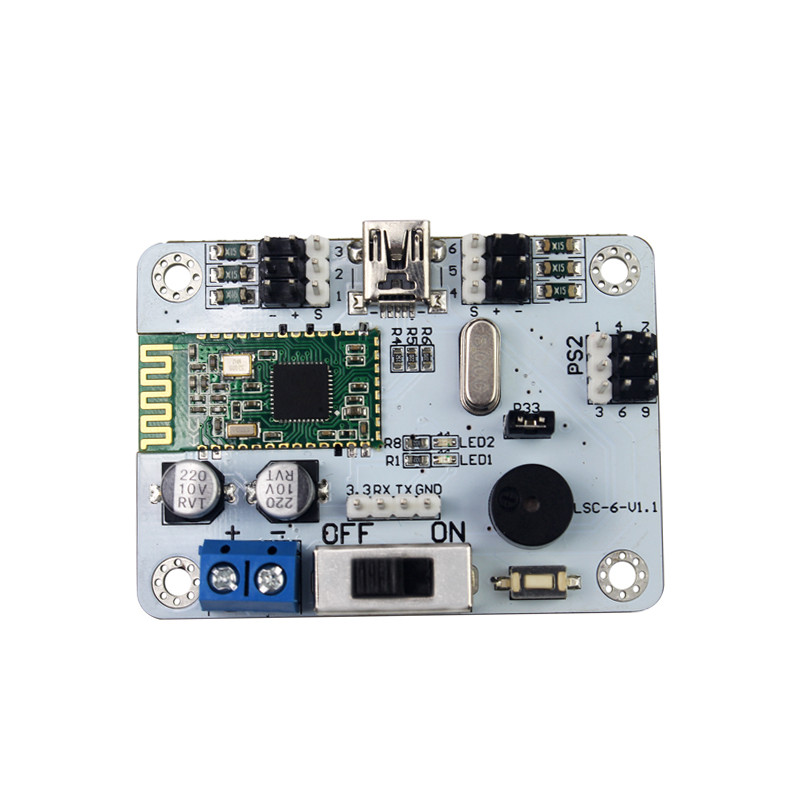 6-channel Bluetooth servo controller built-in Bluetooth 4.0 robot biped robot dedicated support PS2 handle For DIY robot accs<br>