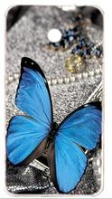Case for Nokia Lumia 630 , FREE SHIPPING,Mickey Flower butterfly cartoon case for Nokia Lumia 630 case