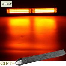 GRIKEY COB LED Car Light Bar 5 Mode Strobe Warning Police Lights Car External Lights For Police BMW(China)