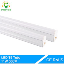 GreenEye Integrated LED Tube T5 Light 220v 240v 60cm 600mm Fluorescent Light Tube Lamp Bulb LED Bar Cold White Warm Neon 10w 11w