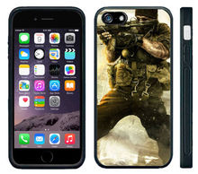 Video Game War Soldier Military cell phone case cover for for Iphone 4S 5 5S 5C 6 Plus Samsung galaxy S3 S4 S5 S6 S7Note 2 3 4 5