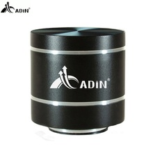 2017 ADIN HIFI Metal Vibration Speaker Mini Portable 5W Intelligent Remote Subwoofer Small Speakers TF Bass FM Radio Speakers(China)